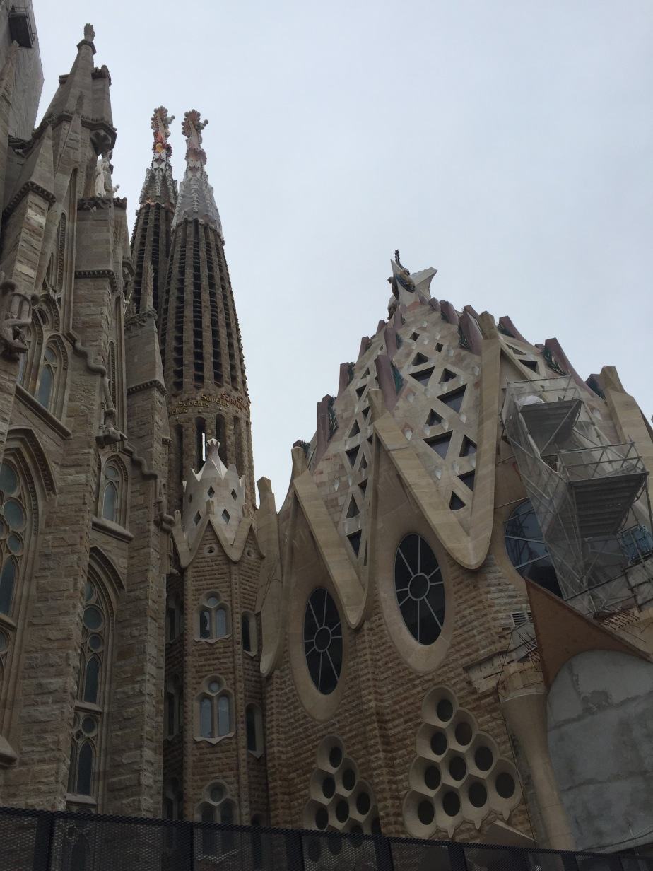 Symbolism writ large –                            La SagradaFamilia